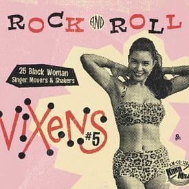 VARIOUS - ROCK AND ROLL VIXENS VOL.5 - KOKO MOJO CD