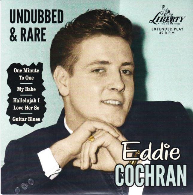 EDDIE COCHRAN - RARE & UNDUBBED EP - LIBERTY 45