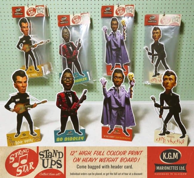 KGM STRING STAR 12″ 'STAND UPS'FULL SET OF FOUR