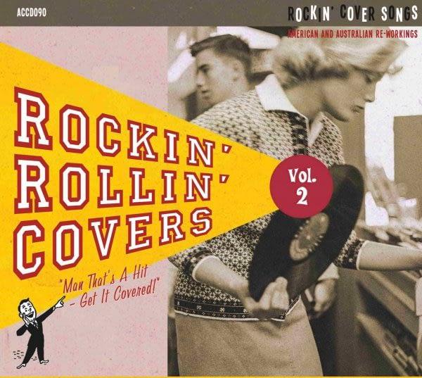 VARIOUS - ROCKIN' ROLLIN' COVERS VOL.2 - ATOMICAT CD